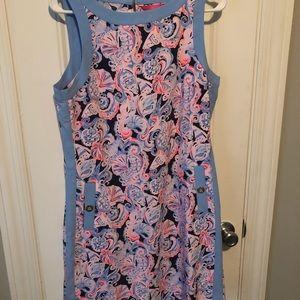Lily Pulitzer Angie Shift Dress Size 8